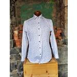 Oxley Black & Blue Spiral Print Sportshirt