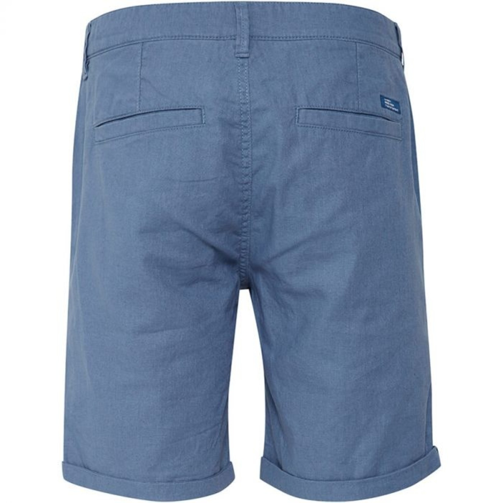 Blend Blend 20712189 Blue Linen/ Cotton Shorts