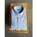 Forsyth Forsyth End On End Stitch Short-Sleeve Shirt