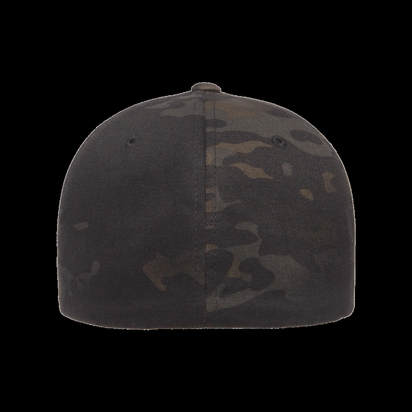 Flexfit Flexfit 6277MC Classic Ballcap - Multicam Black