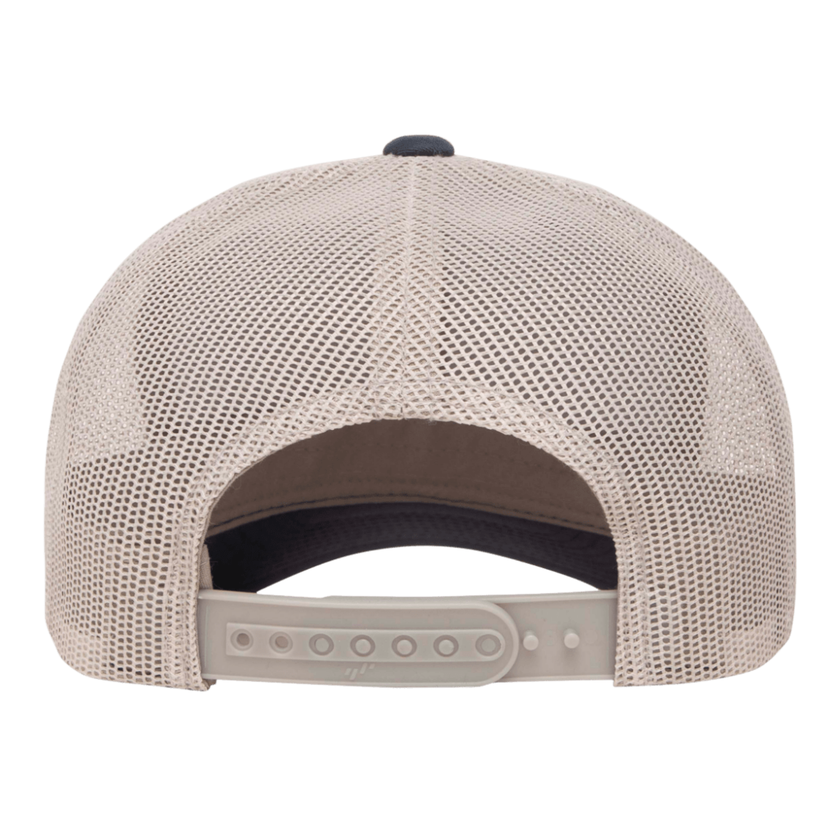 Flexfit Flexfit 6606T 2-Tone Snapback Trucker Hat - Navy/Silver