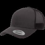 Flexfit Flexfit 6606 Classic Snapback Trucker Hat - Solid Charcoal