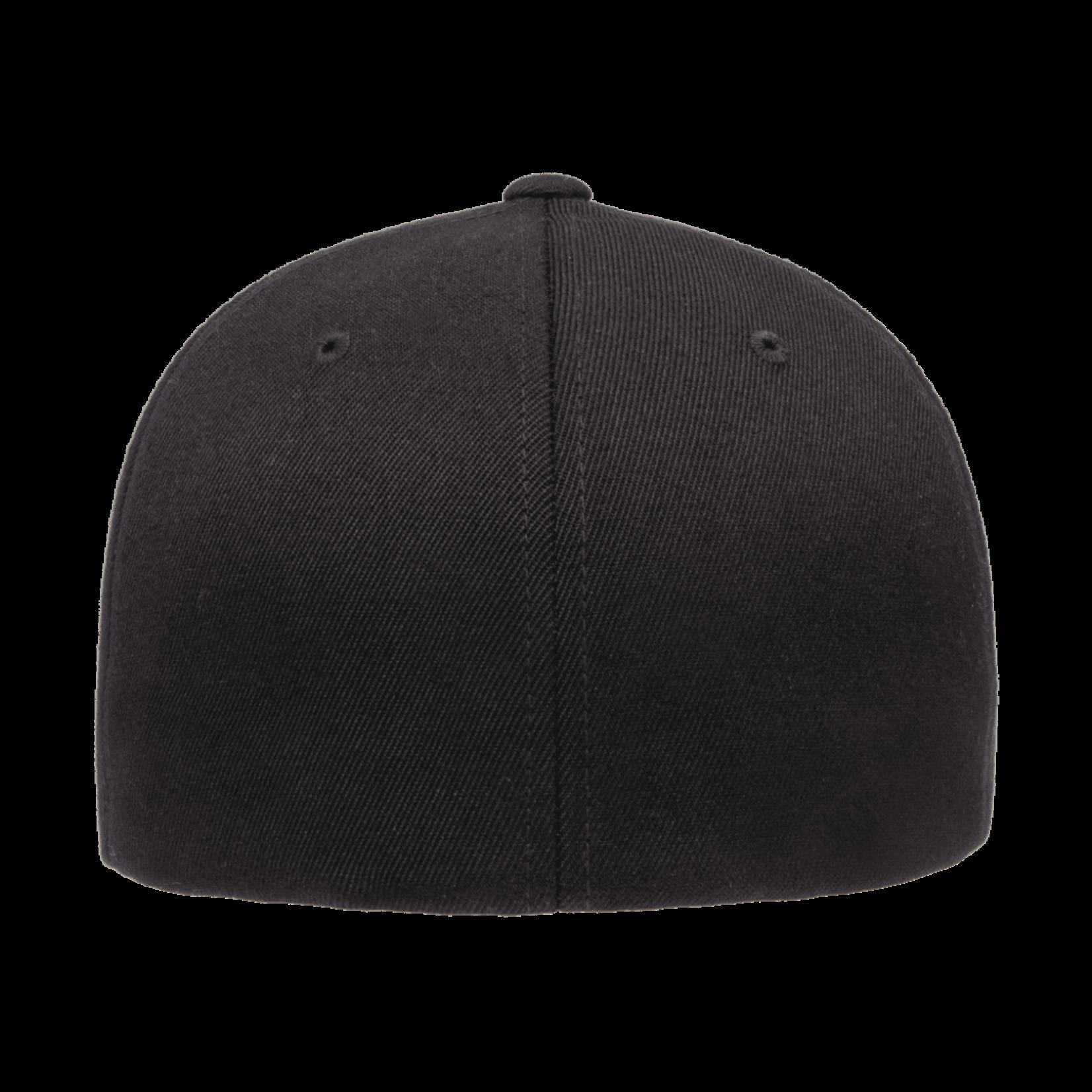 Flexfit Flexfit 6477 Wool Blend Ballcap - Black