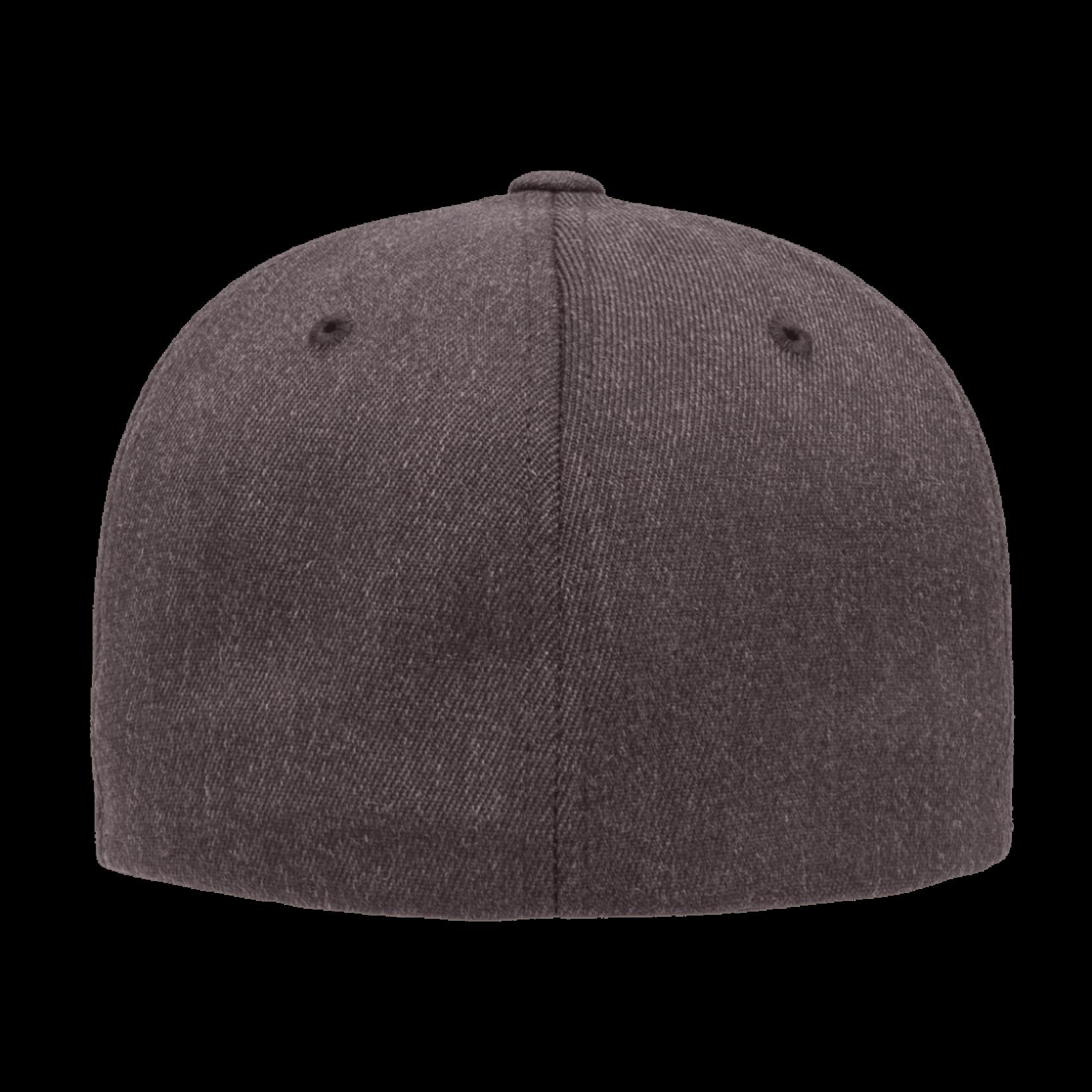 Flexfit Flexfit 6477 Wool Blend Ballcap - Dark Heather Grey