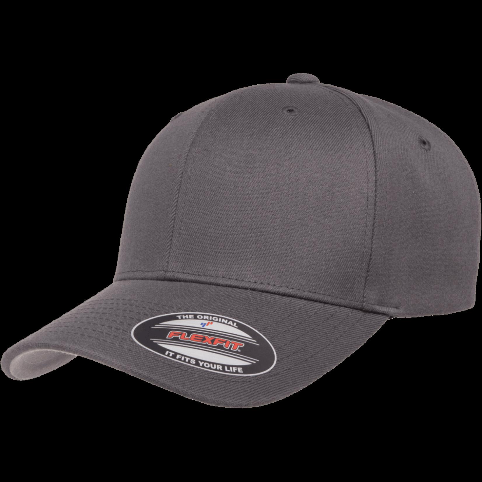 Flexfit Flexfit 6477 Wool Blend Ballcap - Grey