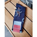 Marcoliani Marcoliani Pima Cotton Taj Paisley - Navy/ Brown