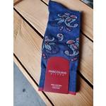 Marcoliani Marcoliani Pima Cotton Paisley - Dark Blue Denim