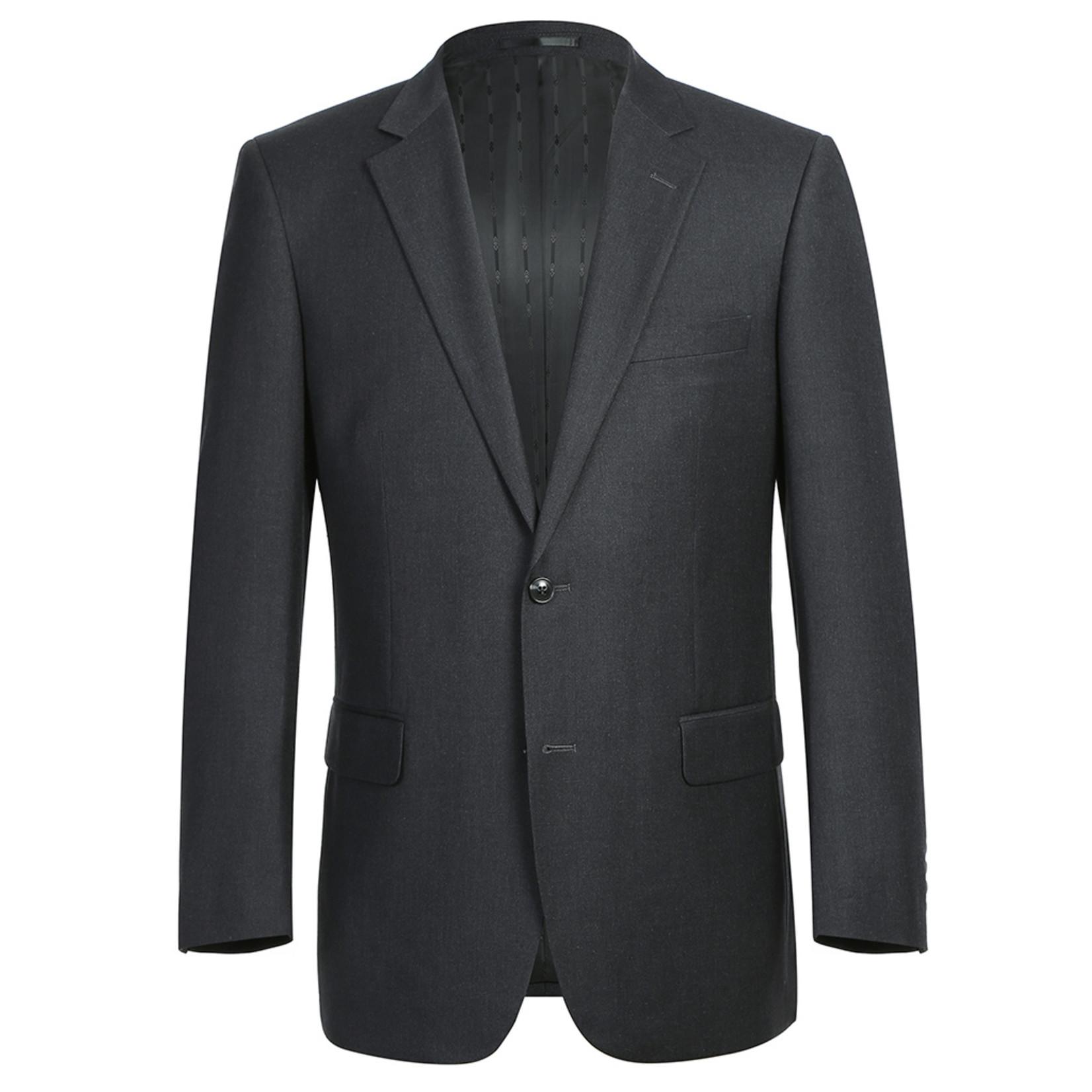 Renoir Renoir Classic Fit Suit 202-1 Charcoal