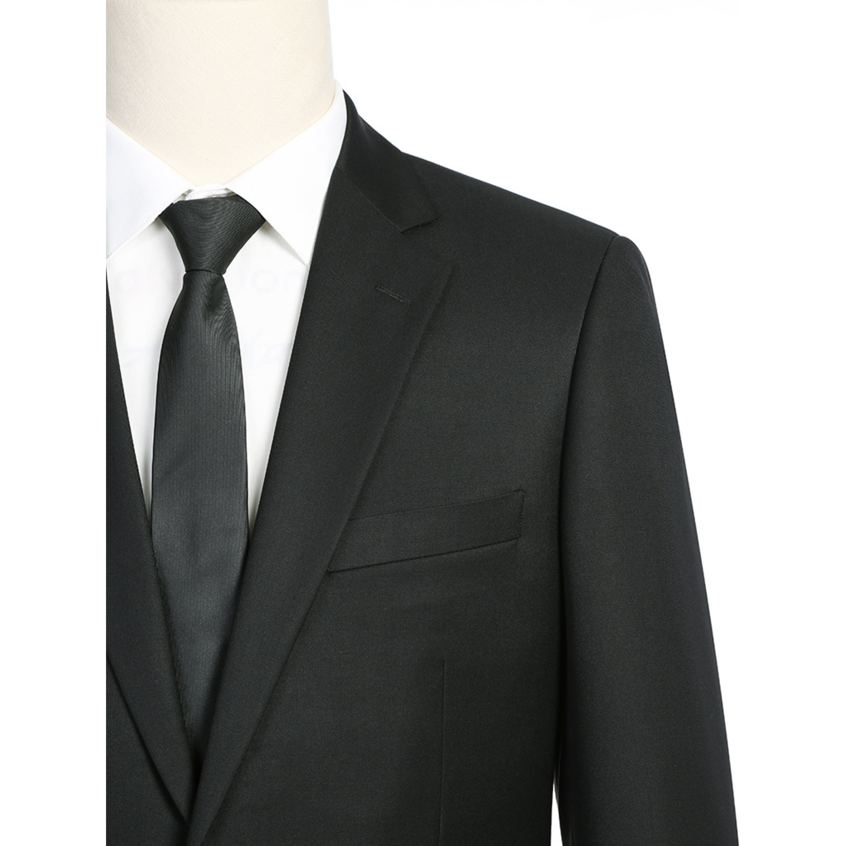 Renoir Renoir Classic Fit Suit 201-1 Black