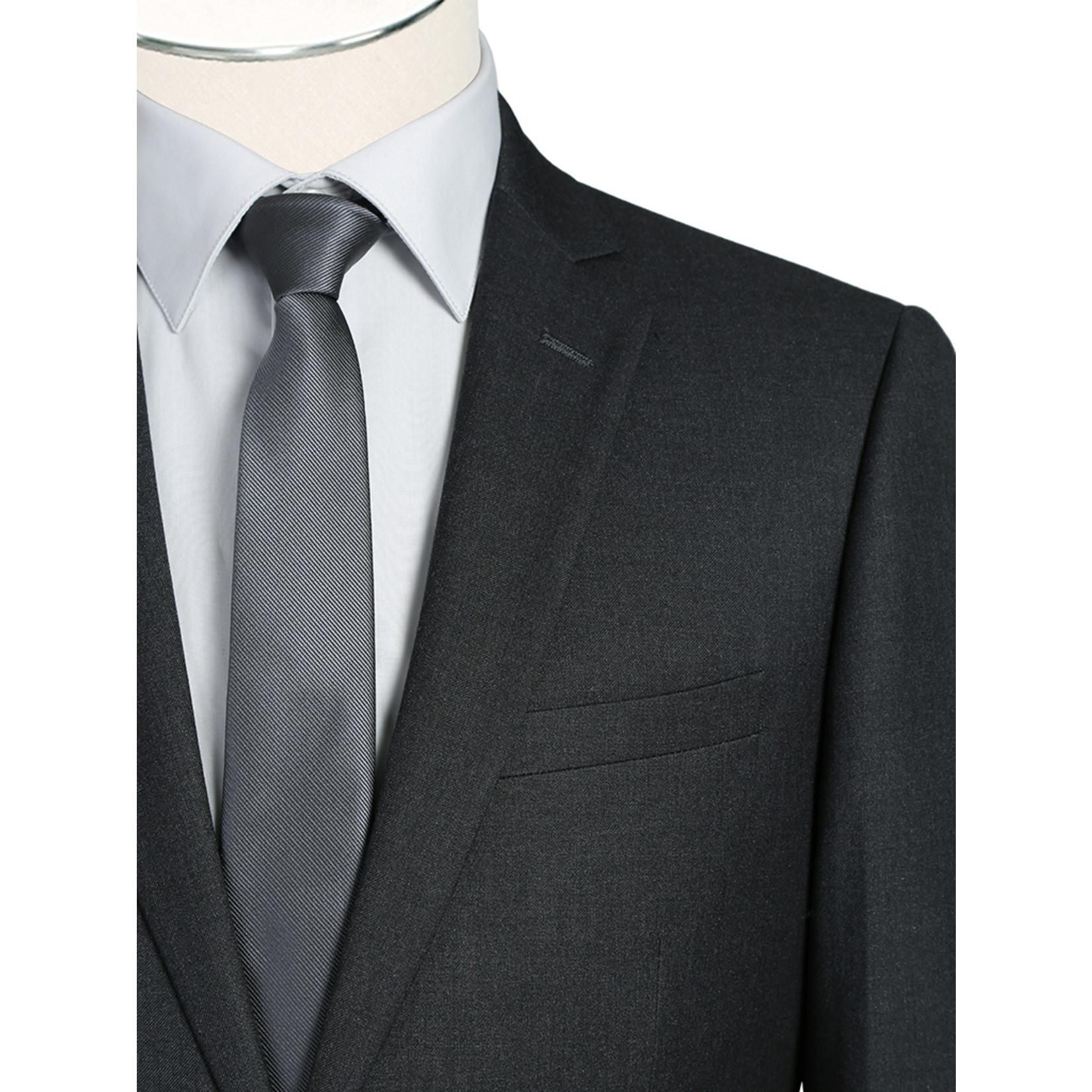 Renoir Renoir Slim Fit Suit 202-1 Charcoal