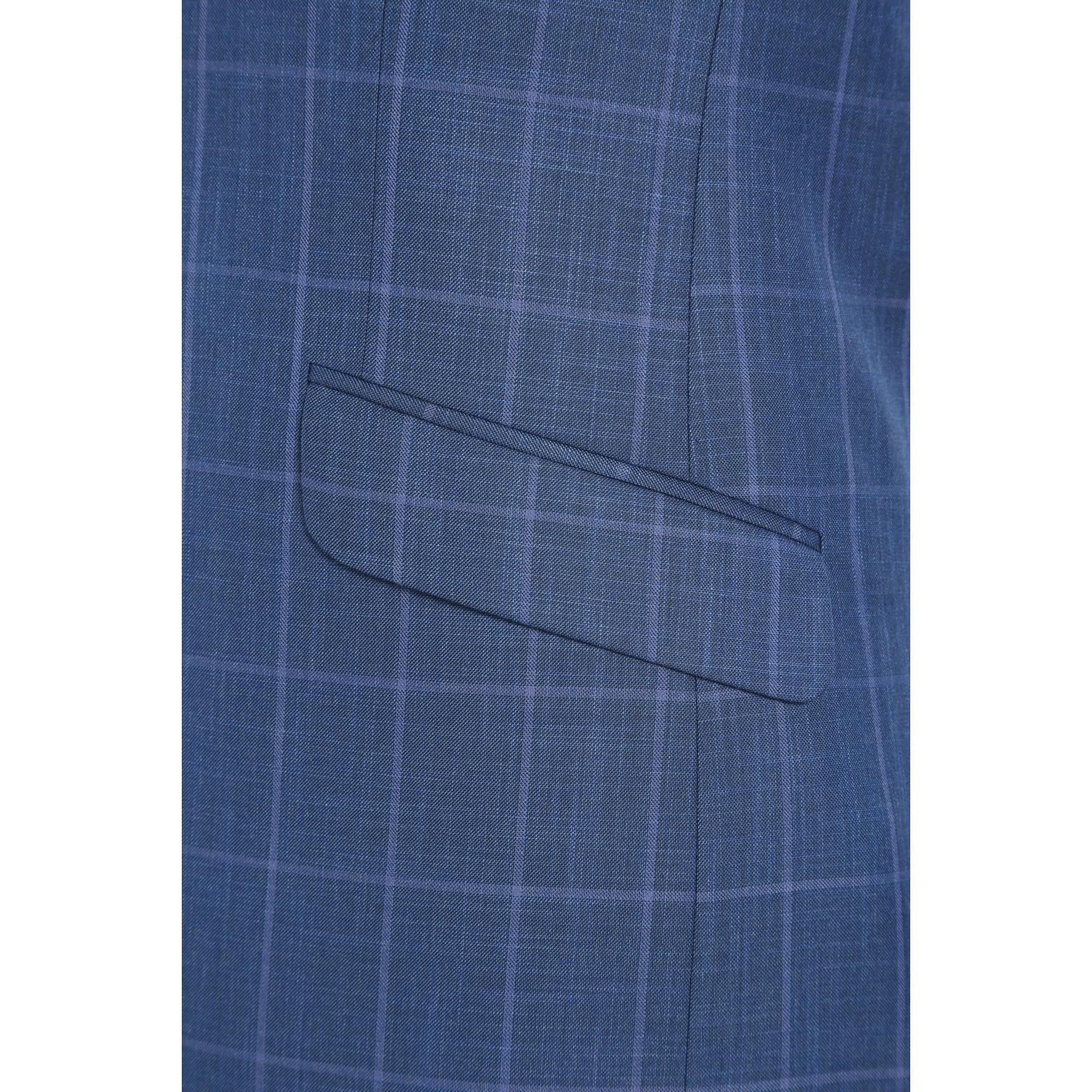 Renoir Renoir Slim Fit Suit 295-2 Blue Pattern