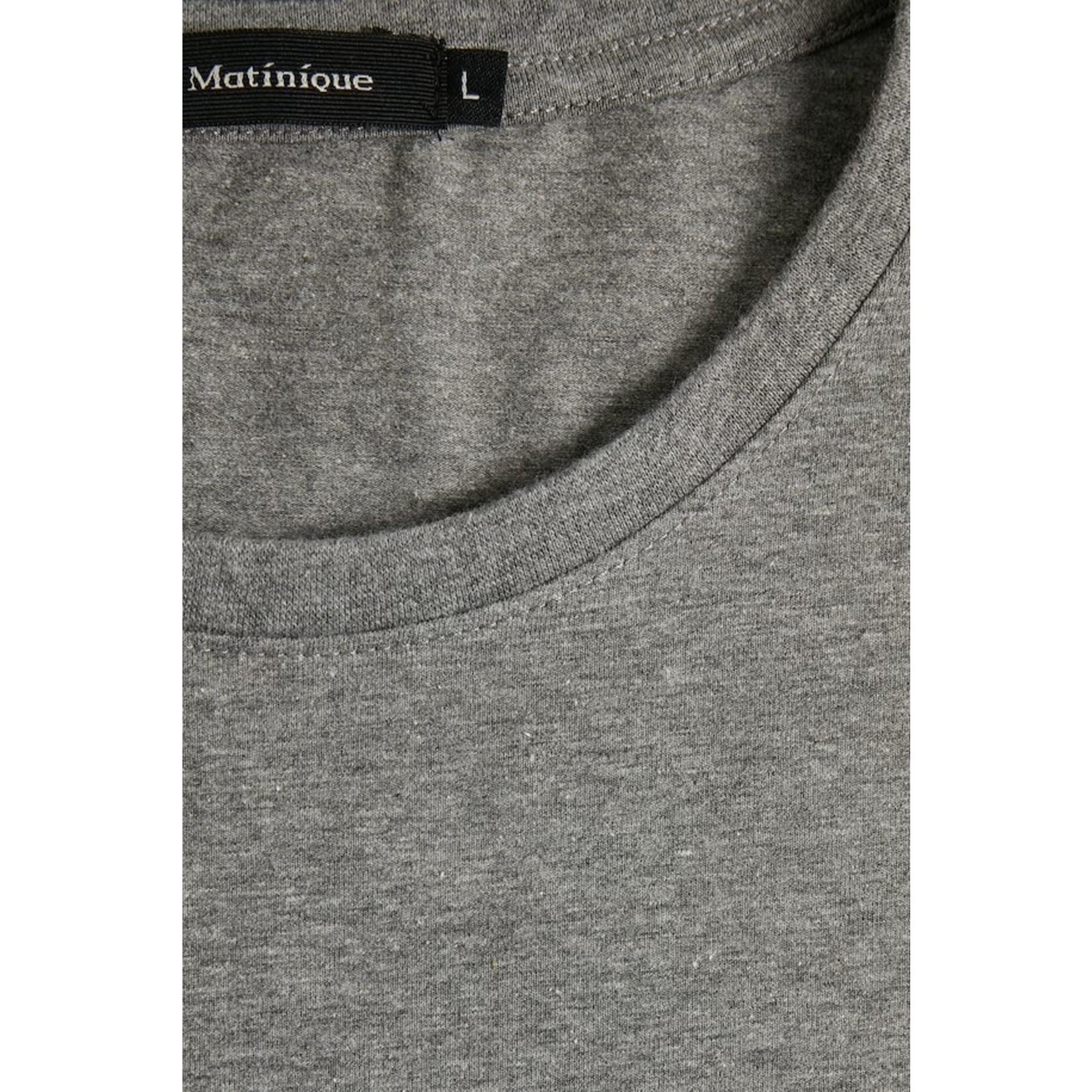 Matinique Matinique Jermalink Crewneck Tee - Med. Grey