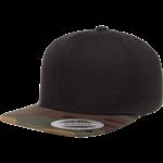 Flexfit Flexfit 6089TC Premium Snapback Hat - Black/Camo