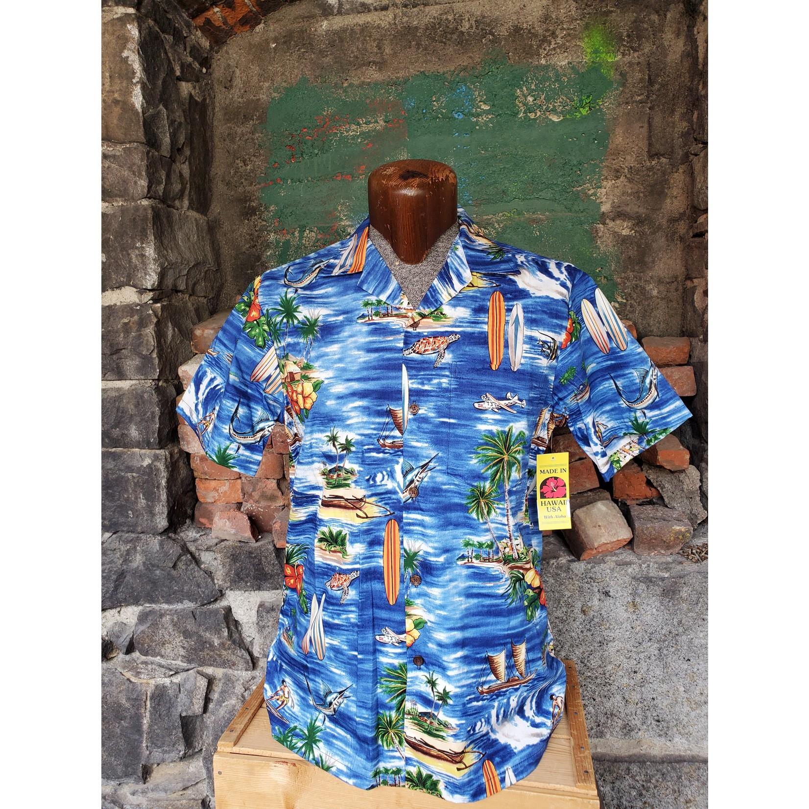 RJC Authentic Hawaiian Shirt - Hawaiian Vacation