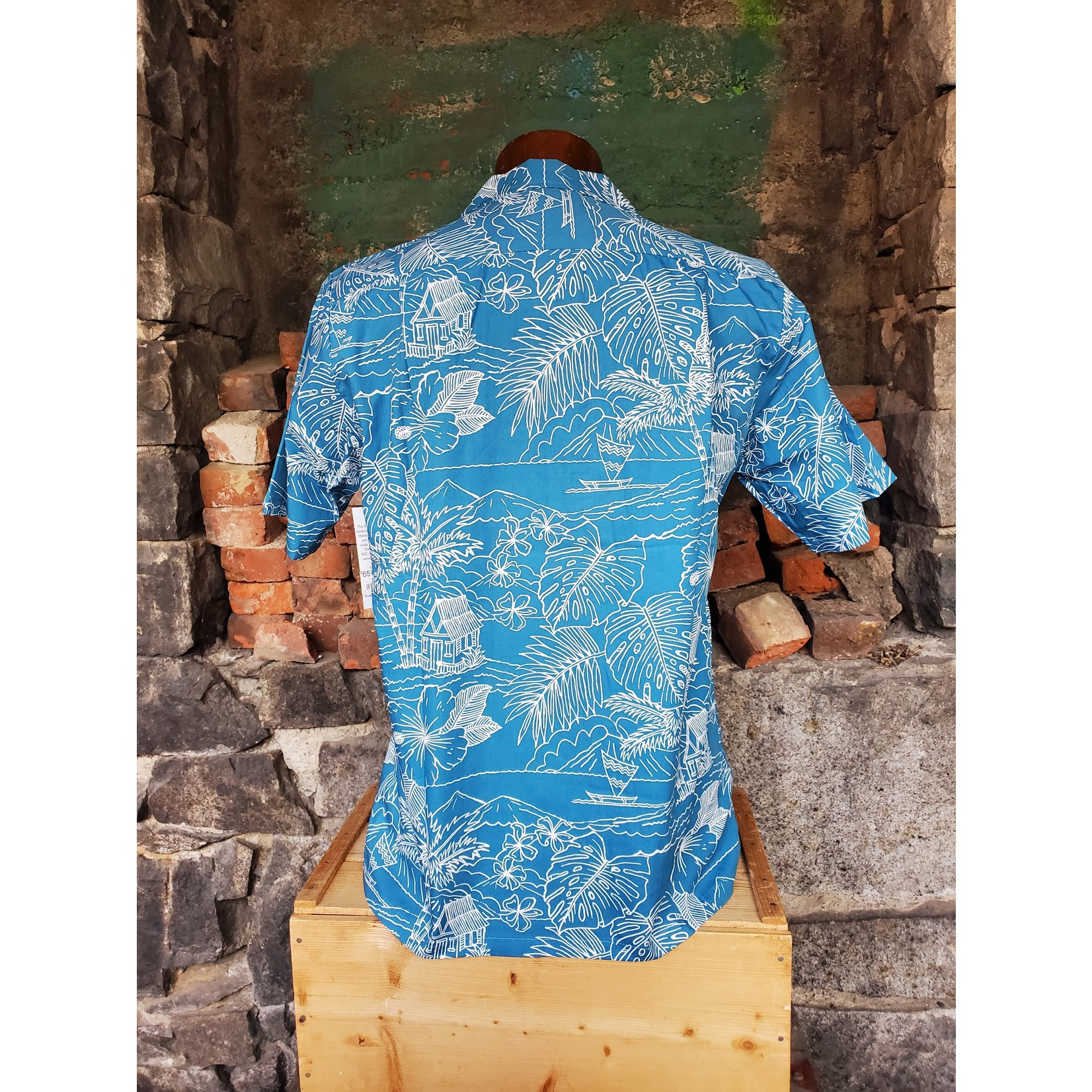 RJC Authentic Hawaiian Shirt - Floral Lines