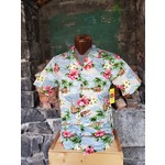 RJC Authentic Hawaiian Shirt - Silver Beach