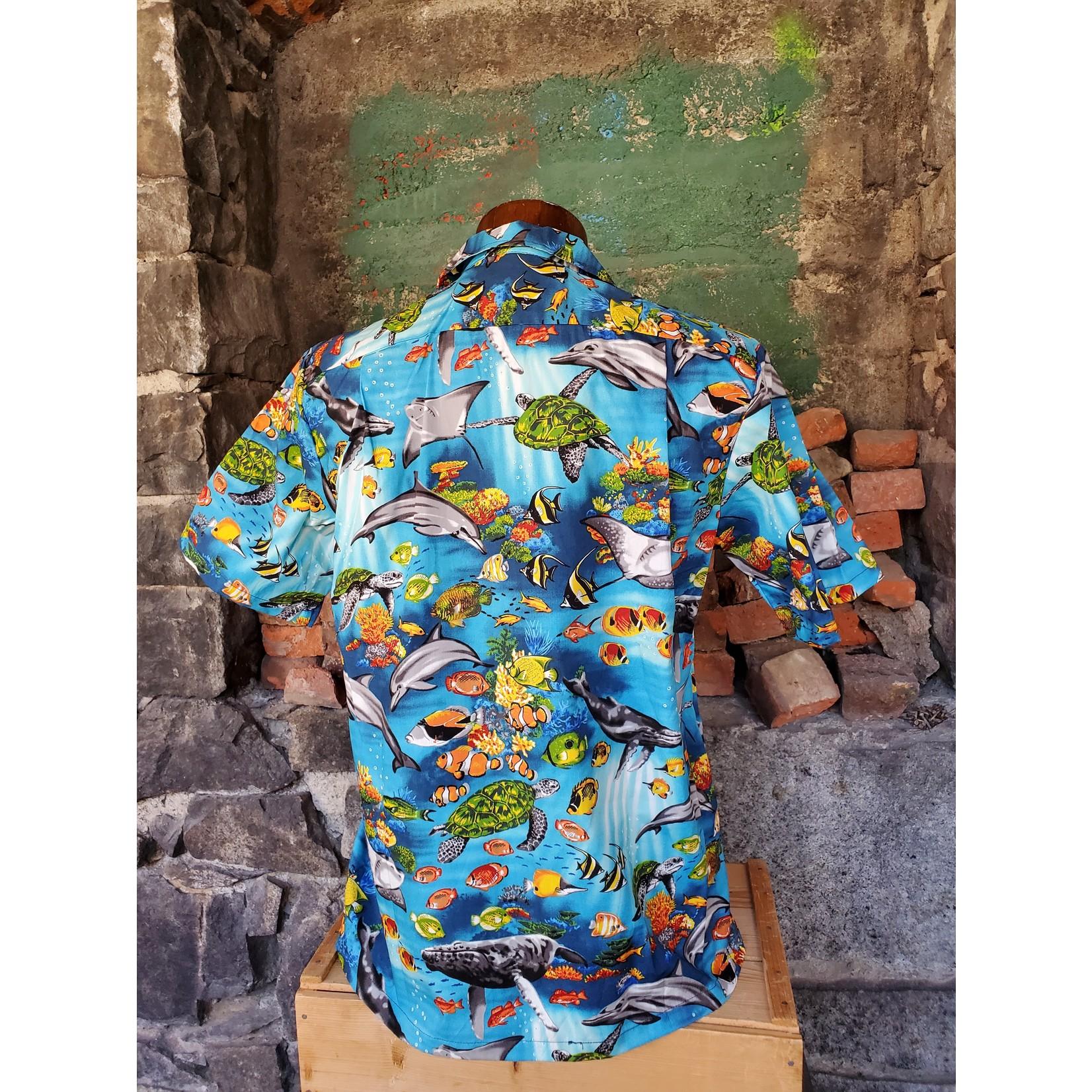 RJC Authentic Hawaiian Shirt - Under the Sea