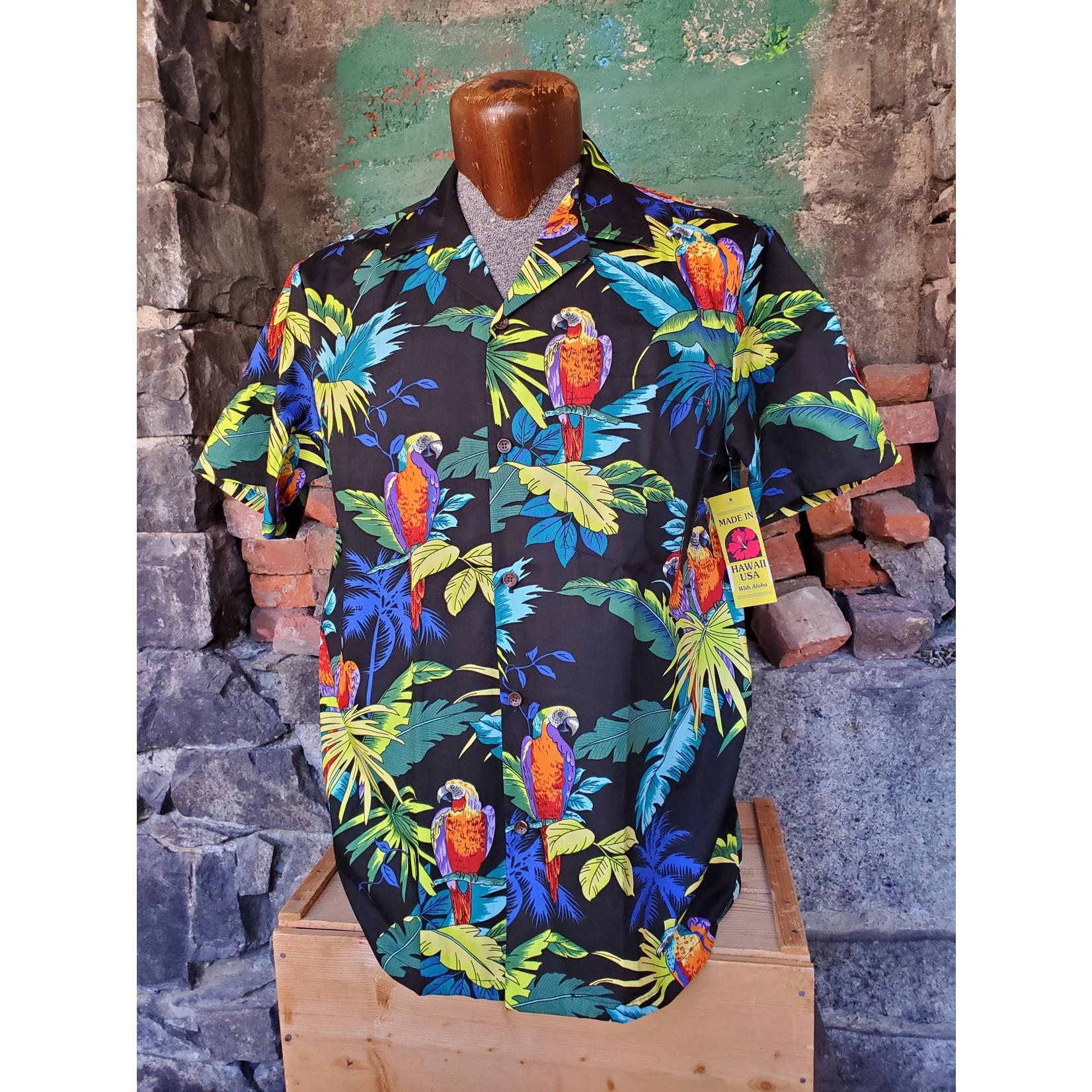 RJC Authentic Hawaiian Shirt - Bright Parrot