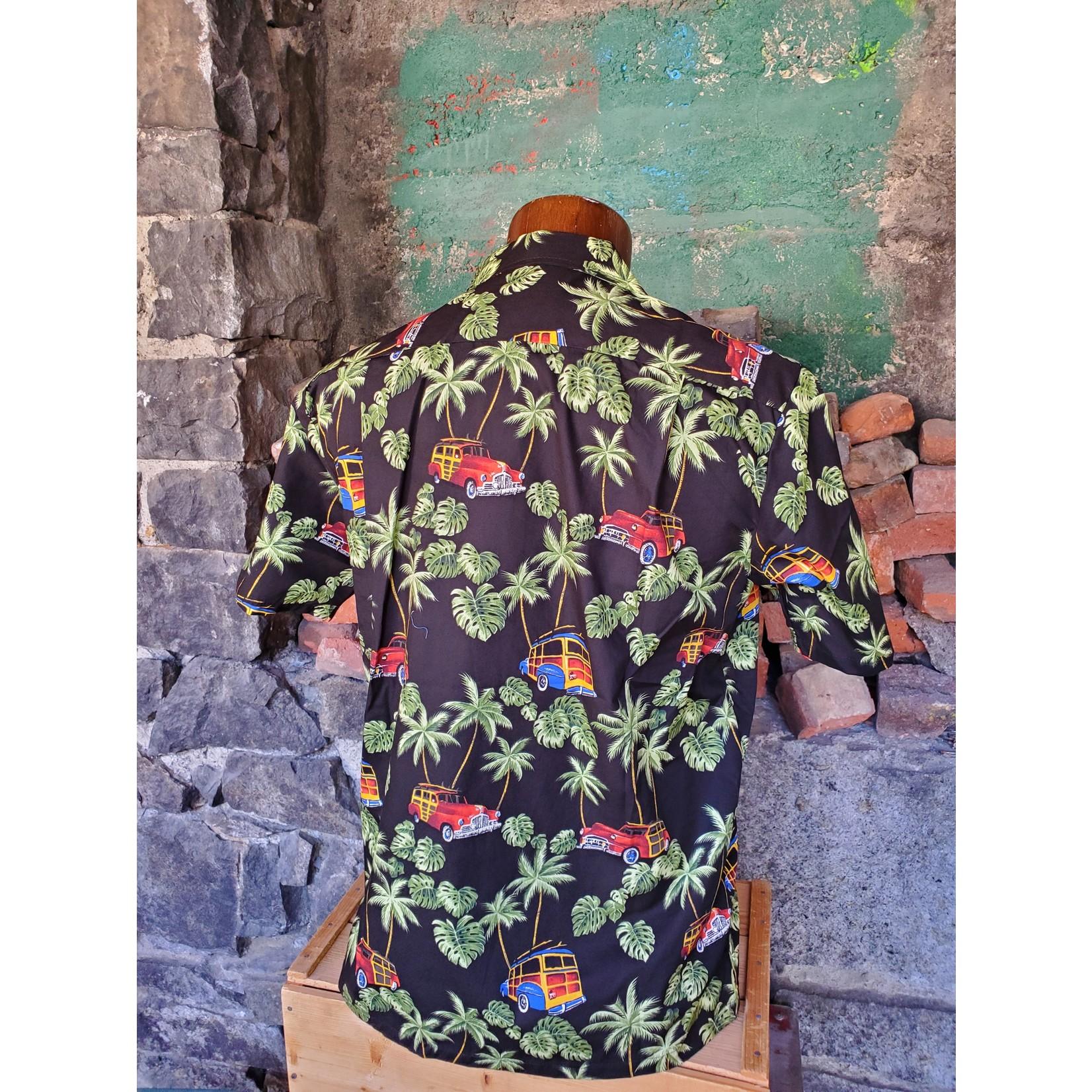 RJC Authentic Hawaiian Shirt - Vintage Cars