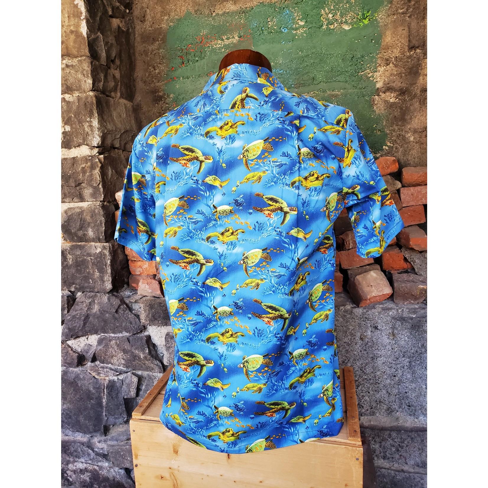 RJC Authentic Hawaiian Shirt - Turtles