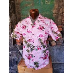 RJC Authentic Hawaiian Shirt - Pink Flamingos
