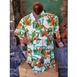 RJC Authentic Hawaiian Shirt - Greenery & Guitars