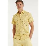 Jack & Jones Jack & Jones Poolside Short-Sleeve Shirt - Sahara Sun
