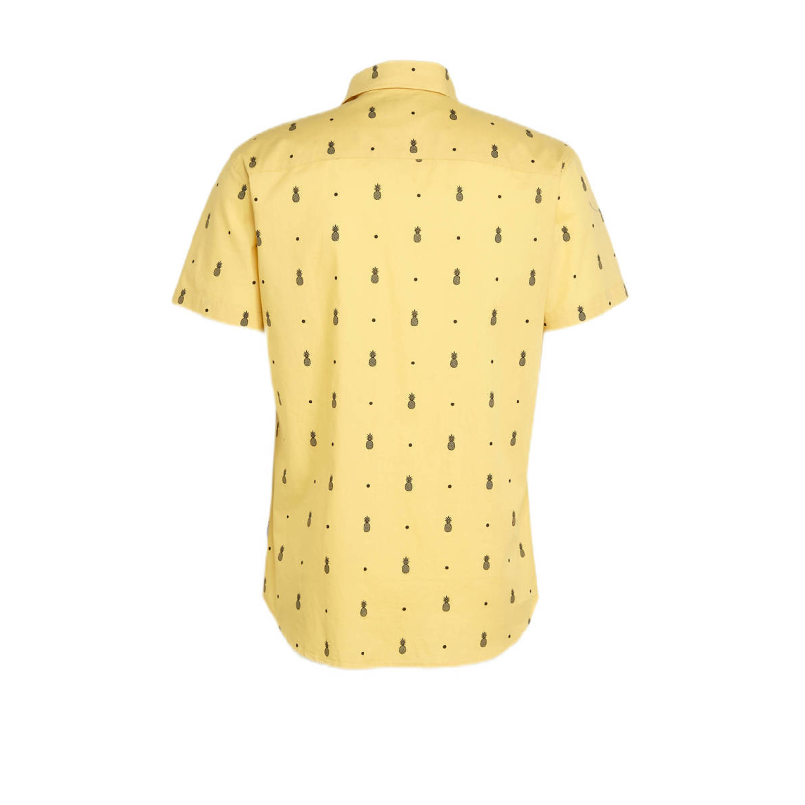 Jack & Jones Jack & Jones 12187951 Poolside Short-Sleeve Shirt - Sahara Sun