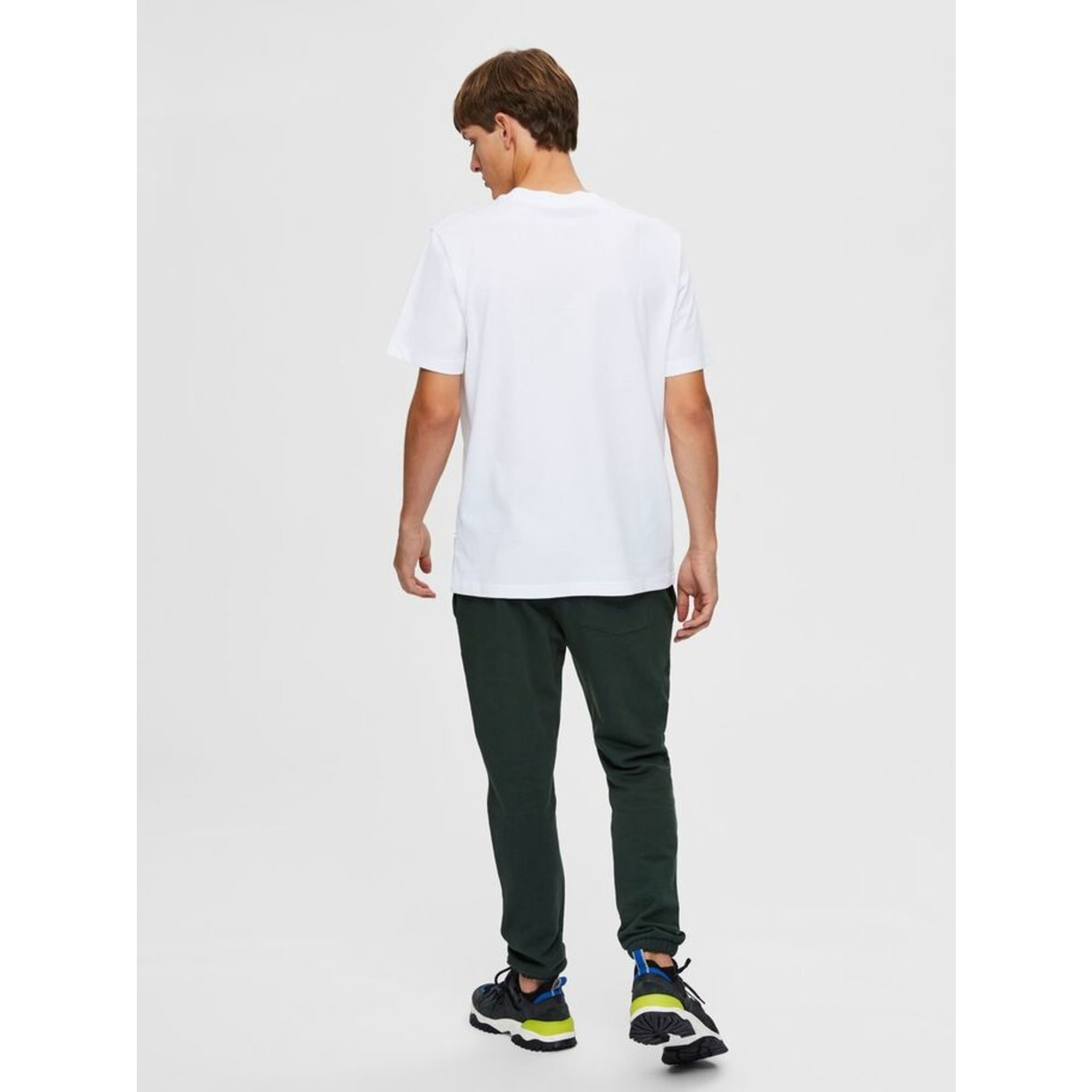 Selected Homme Selected Homme 1607738 Colman Relaxed Tee - Bright White