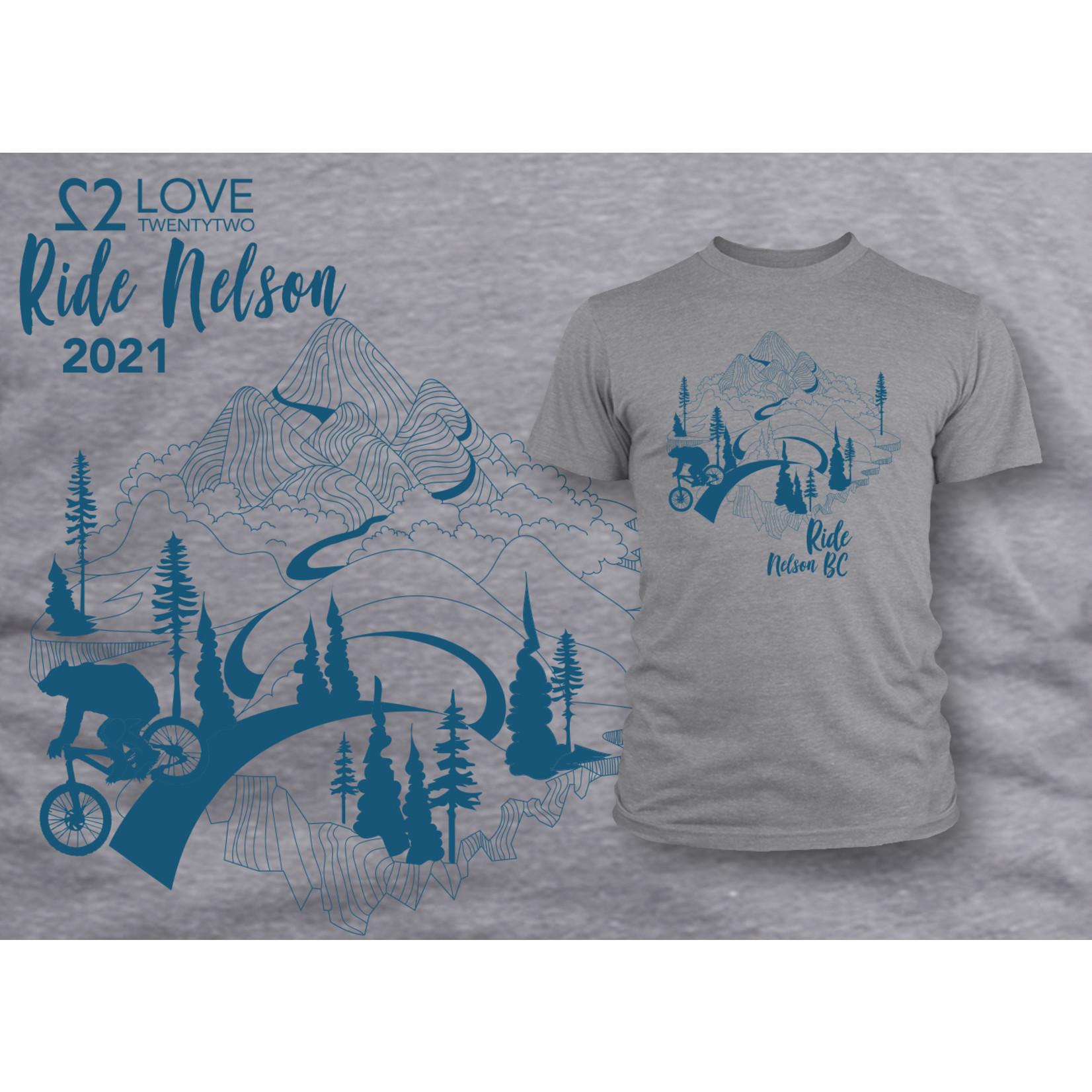 Love TwentyTwo Love 22 Ride Nelson T-Shirt