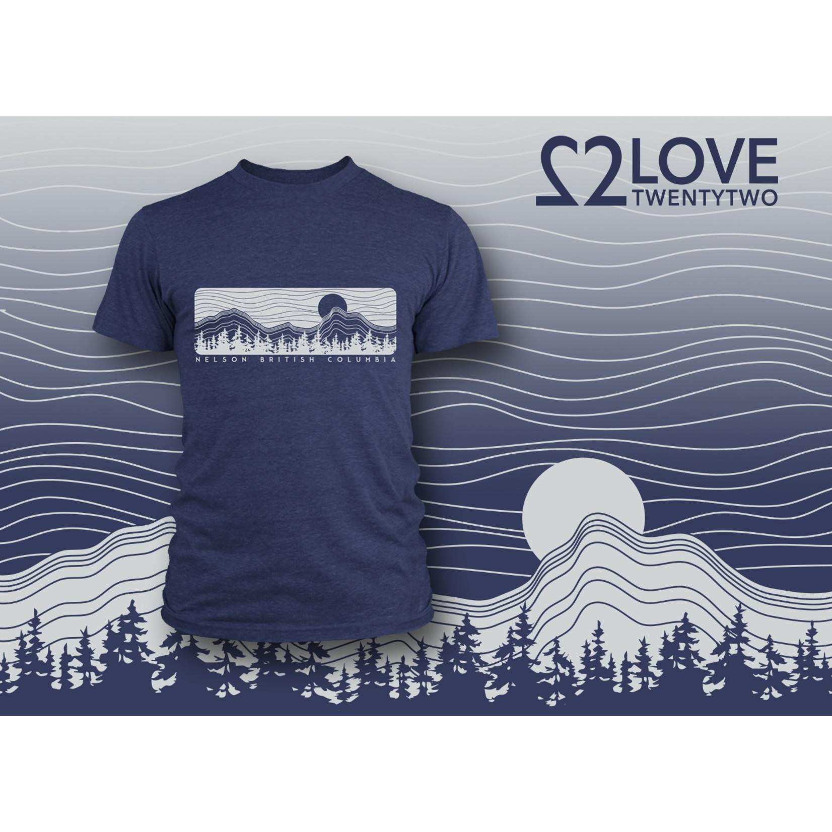 Love TwentyTwo Love 22 Latitude T-Shirt