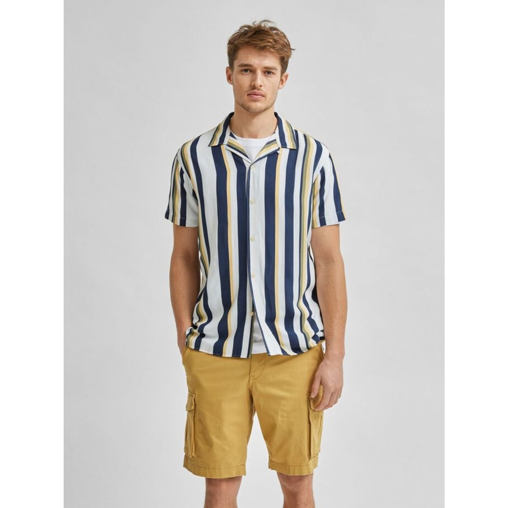 Selected Homme Selected Homme 16078331 Michael Shirt - Egret