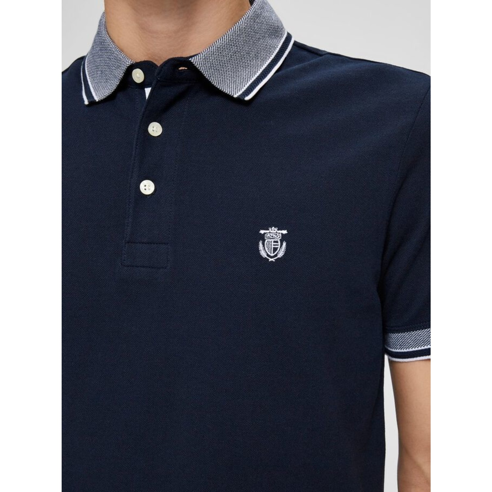 Selected Homme Selected Homme 16065598 Twist Polo - Dark Sapphire