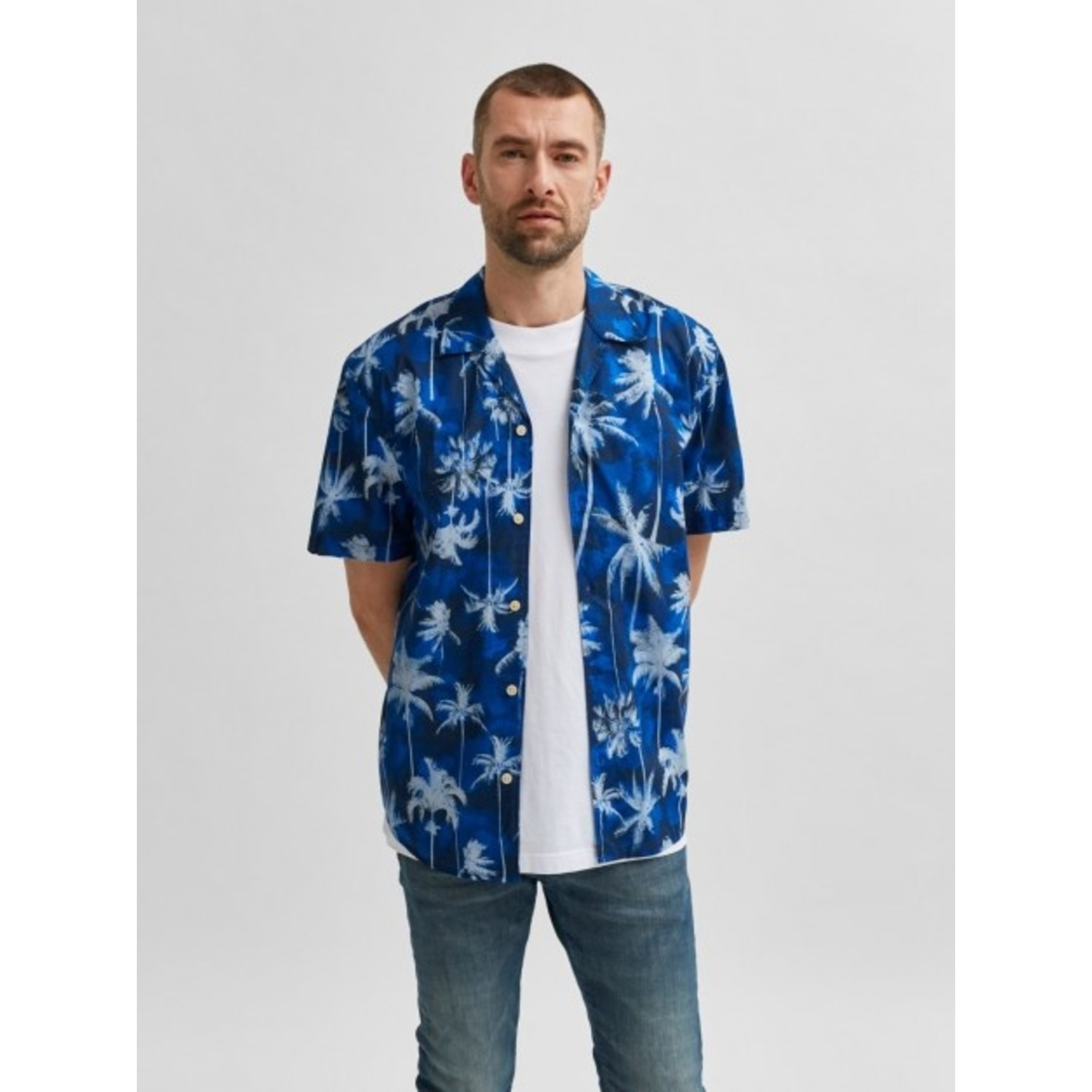 Selected Homme Selected Homme 16078346 Simon Shirt - Dark Blue