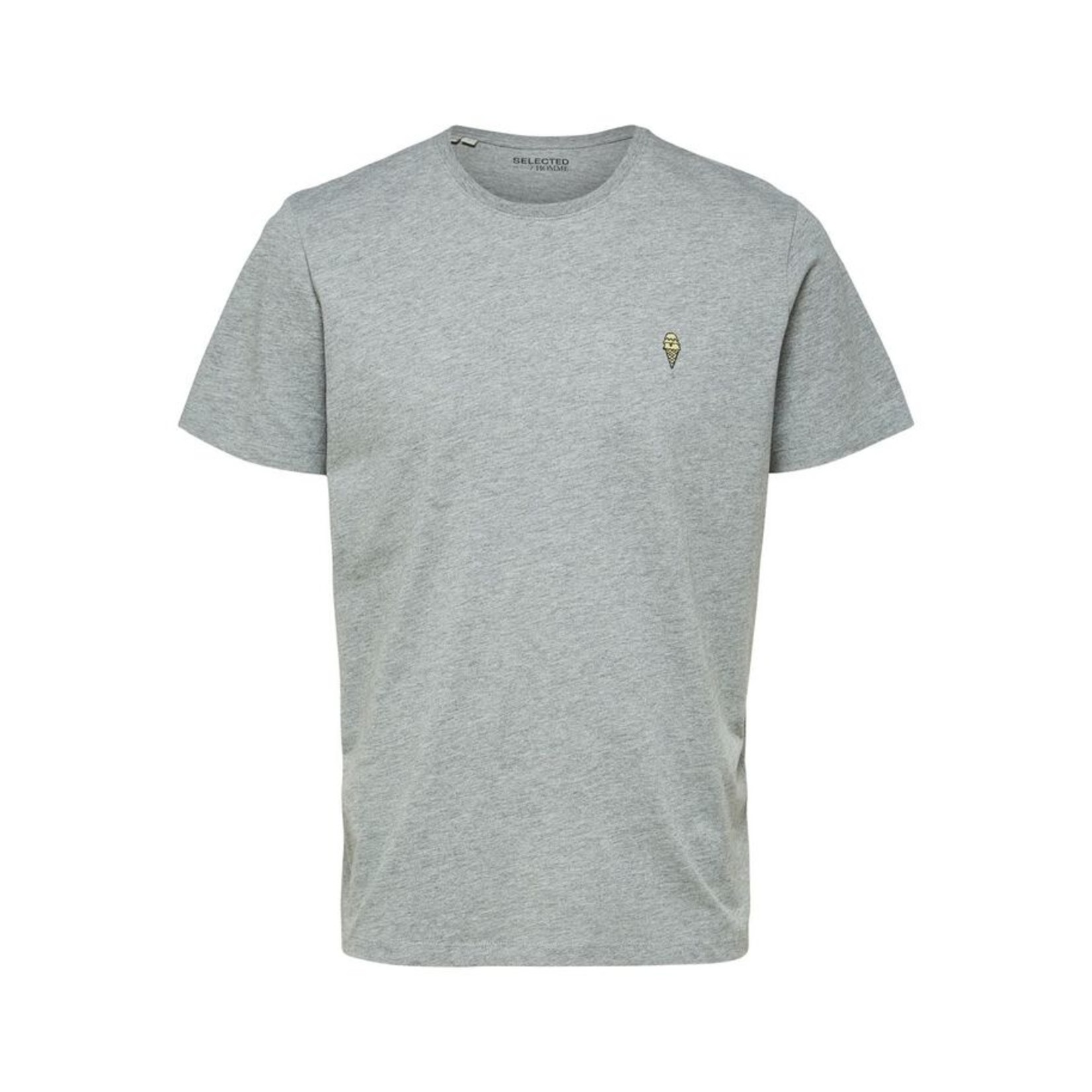 Selected Homme Selected Homme 16078260 Jude Tee - Grey