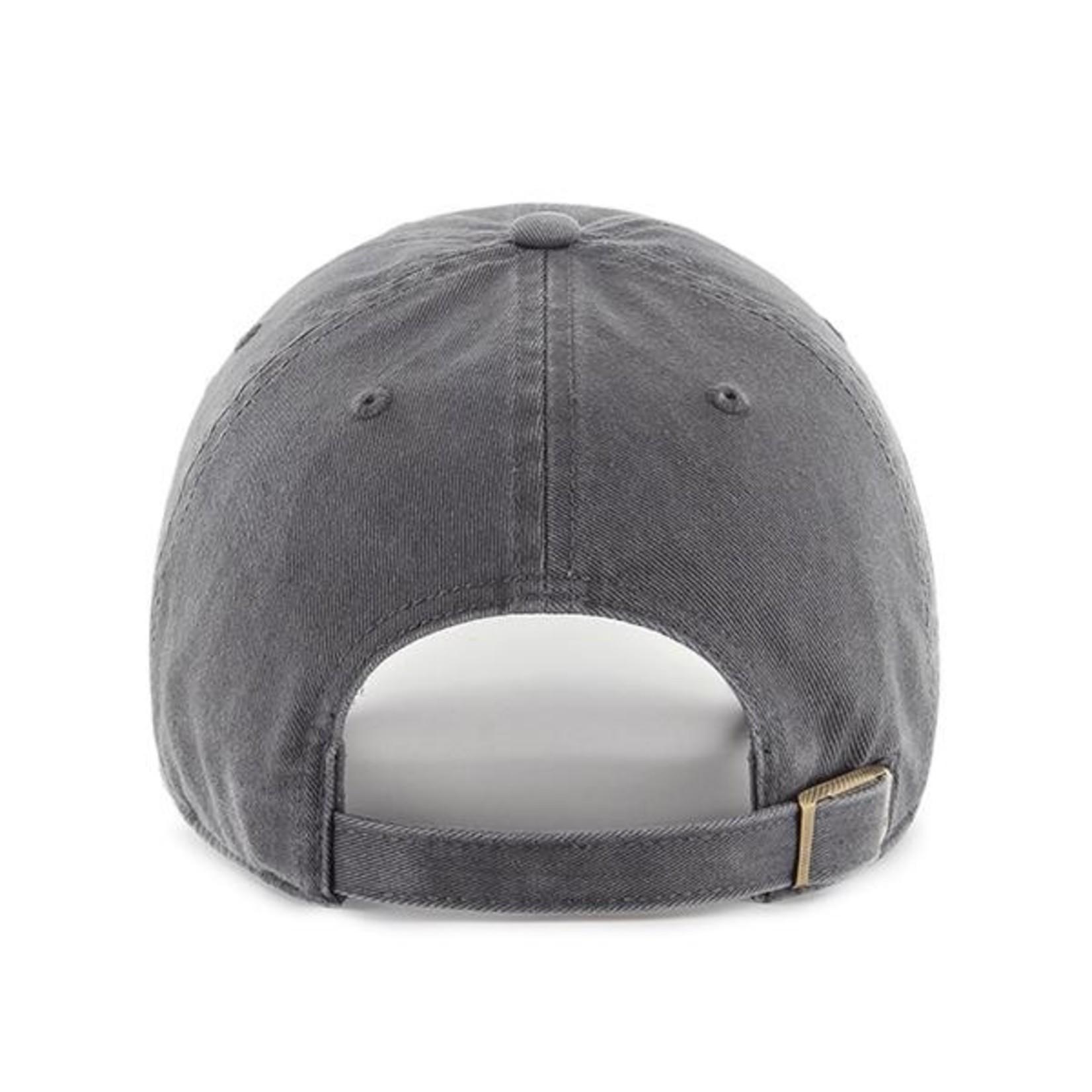 47 Brand Classic Clean Up Baseball Cap - Charcoal