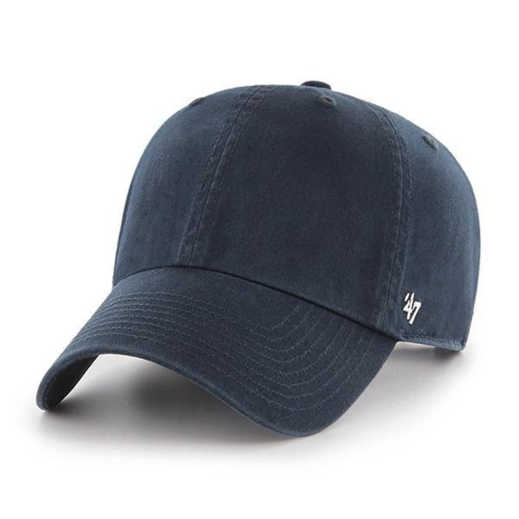 47 Brand Classic Clean Up Baseball Cap - Navy