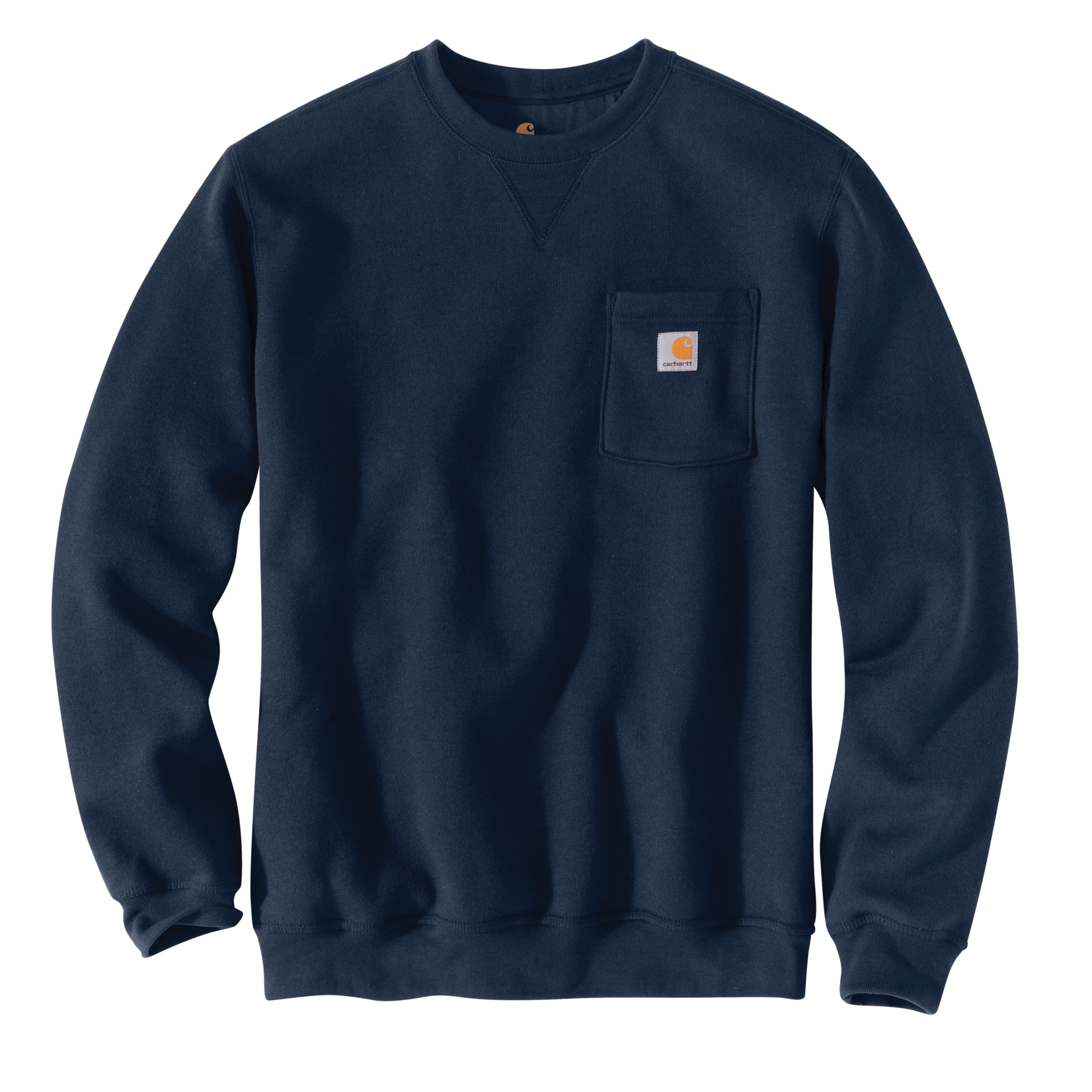 Carhartt Carhartt 103852 Loose Fit Midweight Crewneck Pocket Sweatshirt - 472 New Navy