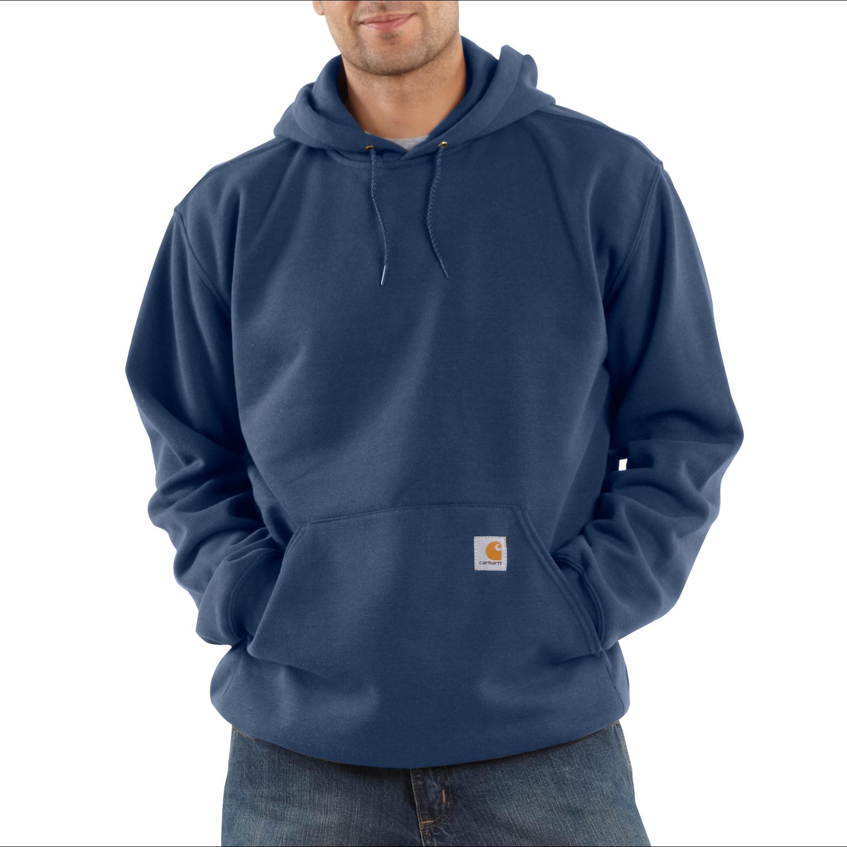 Carhartt Carhartt K121 Loose Fit Midweight Hooded Sweatshirt - 472 New Navy