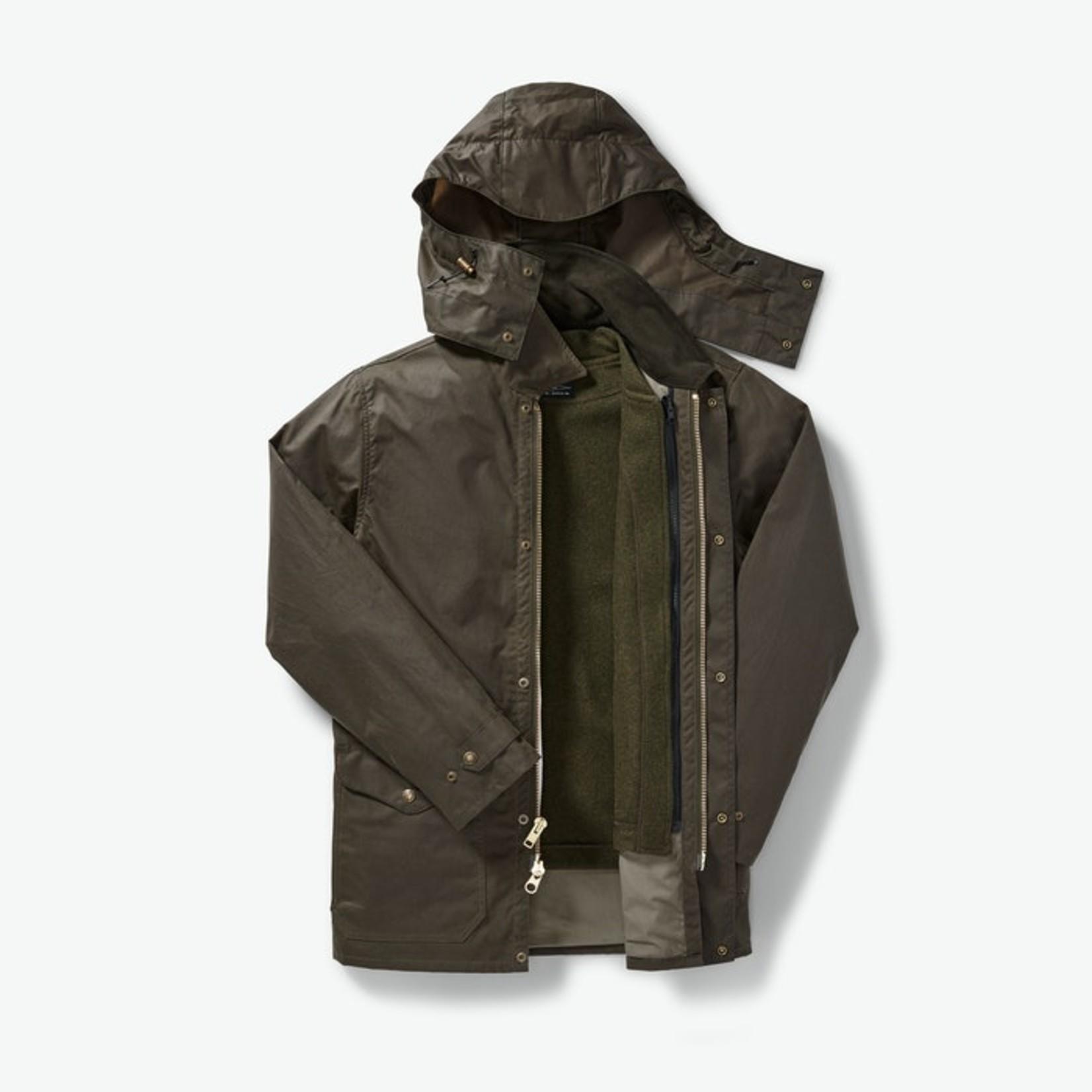 Filson Filson 20171578 Cover Cloth Mile Marker Coat - Otter Green