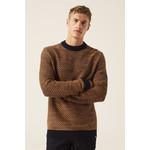 Garcia Garcia Cotton Crew Neck Sweater - Burnt Caramel