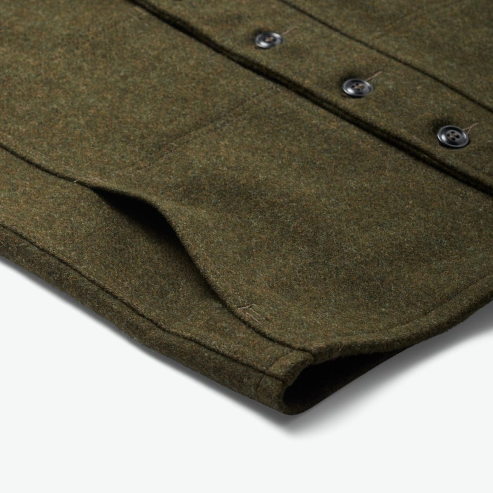 Filson Filson 11010055 Mackinaw Wool Vest- Forest Green