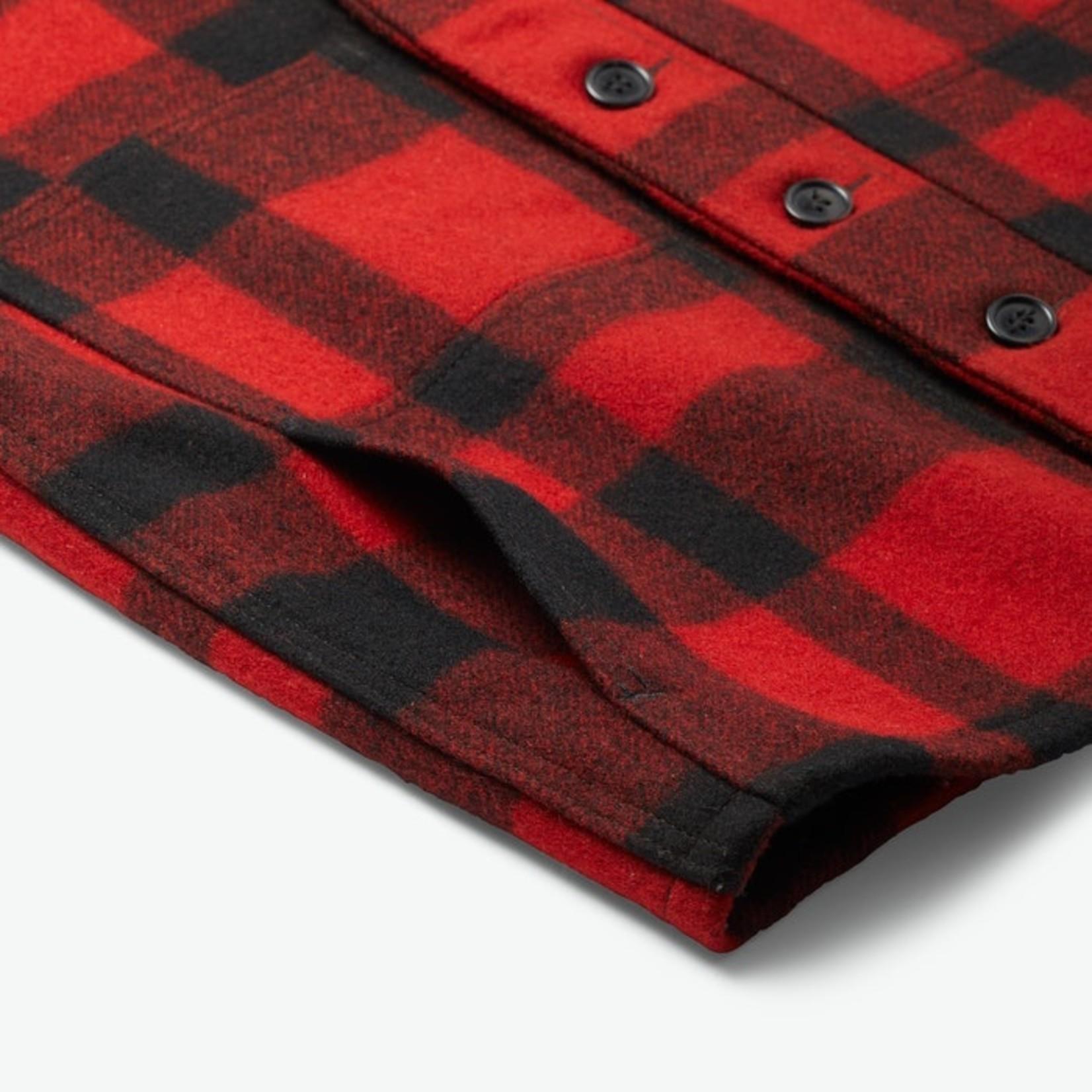 Filson Filson 11010055 Mackinaw Wool Vest - Red and Black