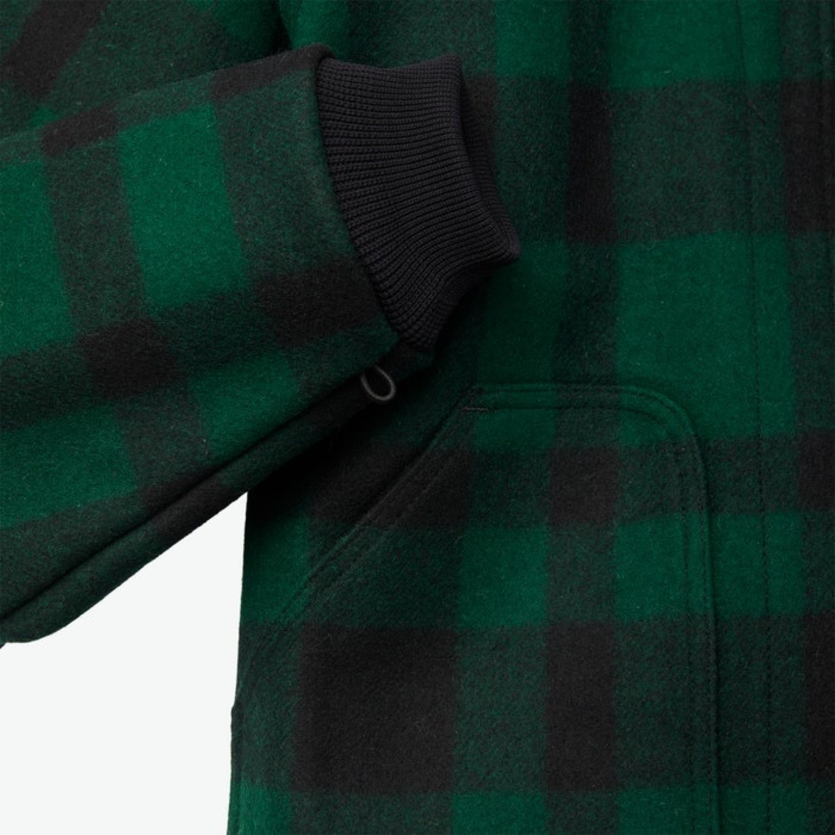 Filson Filson 11010036 Wool Jacket Liner - Green and Black