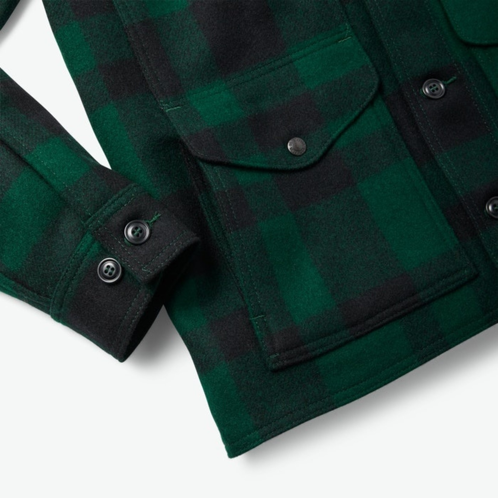 Filson Filson 11010043 Mackinaw Cruiser - Green and Black