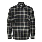 Selected Homme Selected Trent Long-Sleeve Check Shirt - Dark Navy Checks