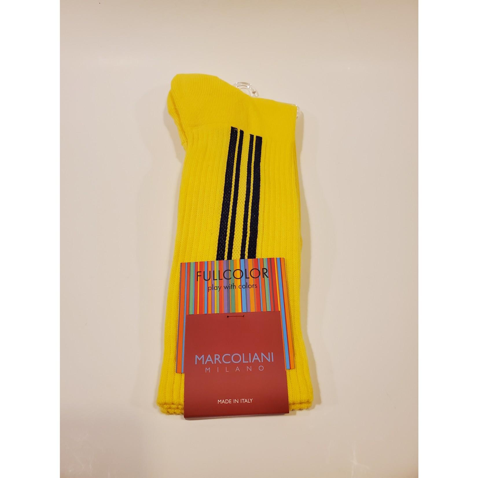 Marcoliani Marcoliani Full Color MAR4500T Vertical Stripe - 020 Yellow