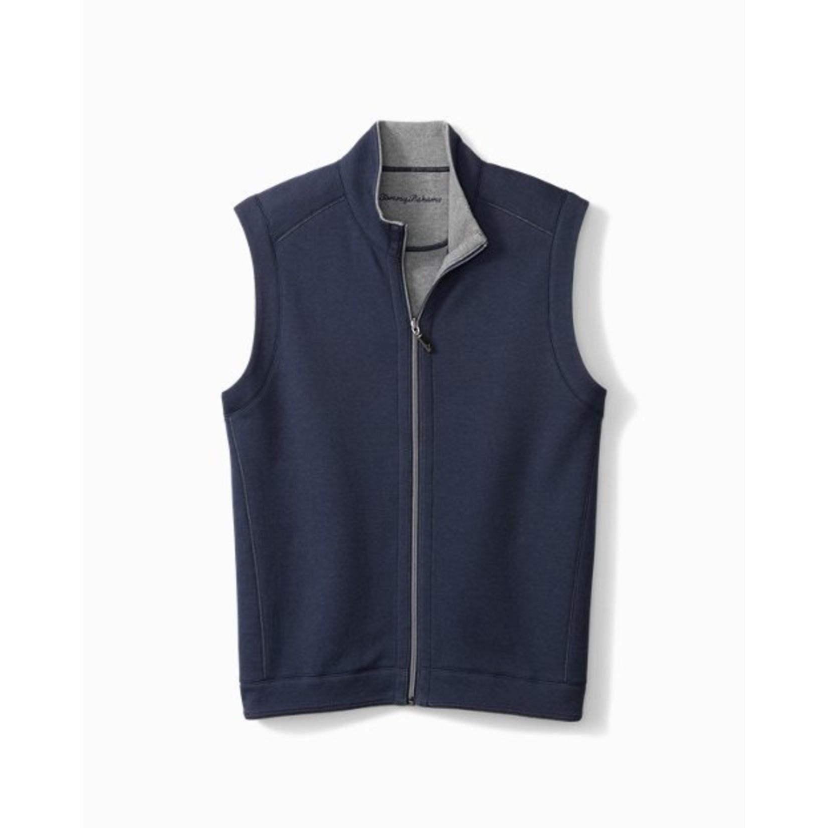 Tommy Bahama Tommy Bahama ST225594 Flipshore Full Zip Vest - 18792 Rockshade Heather