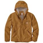 Carhartt Carhartt Washed Duck Sherpa Lined Jacket - Carhartt Brown