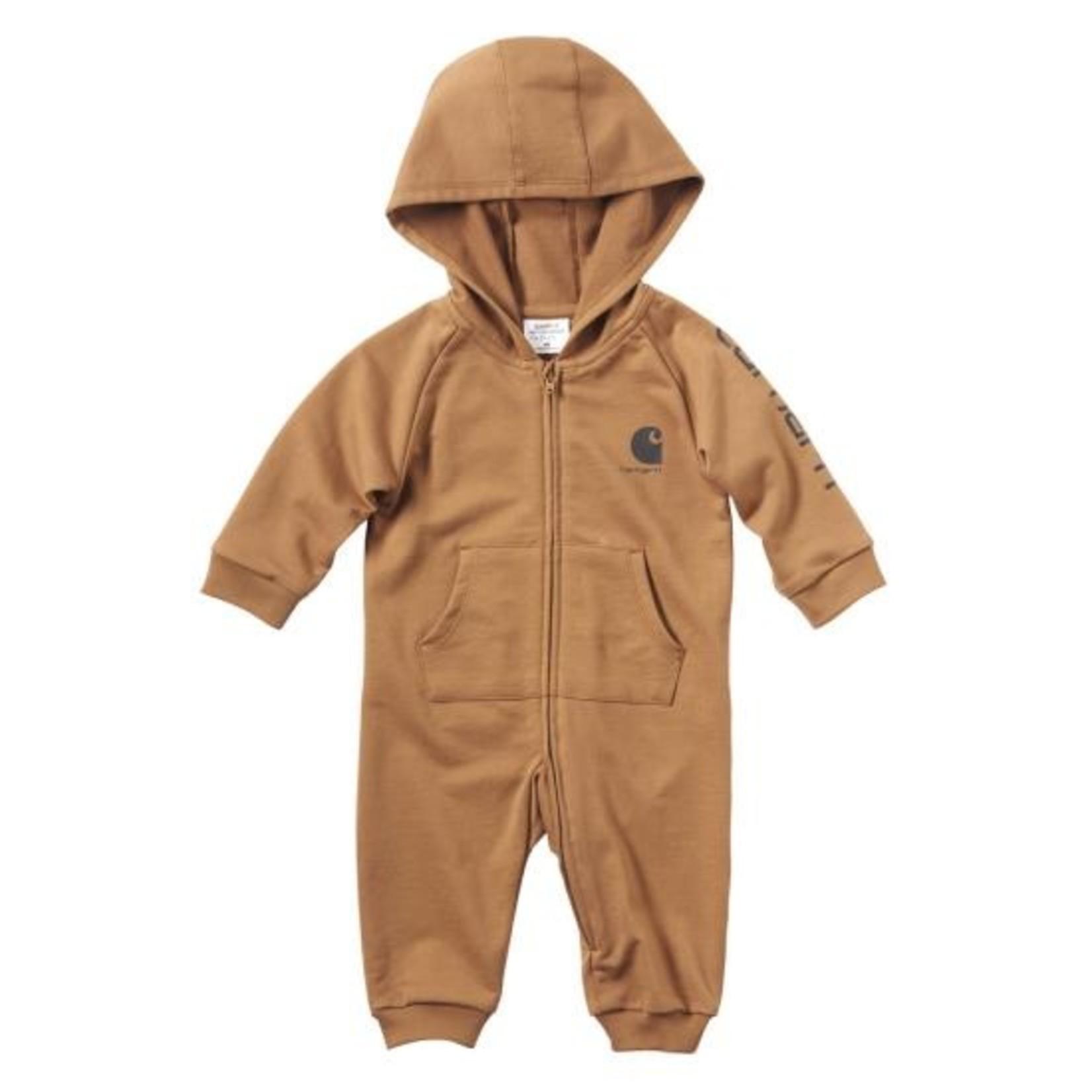 Carhartt Carhartt Kids CM8675 Fleece Zip-Front Coverall